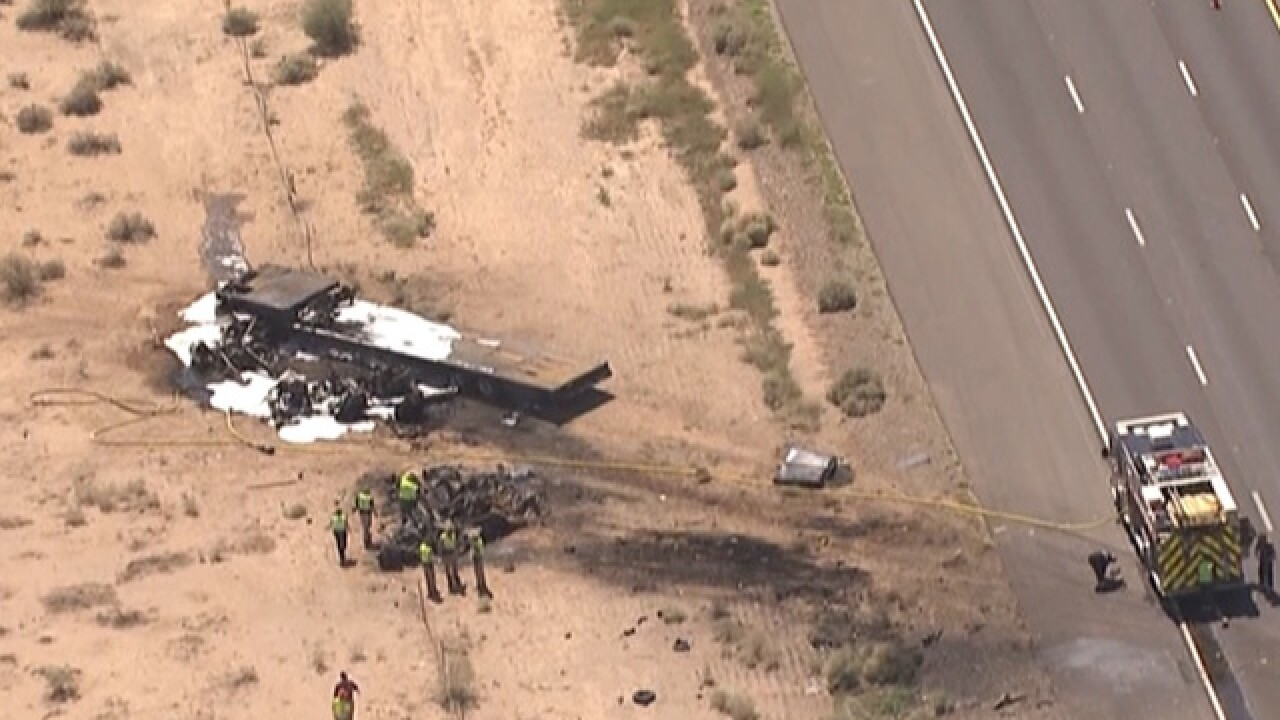 DPS: 2 dead in Chandler semi truck crash