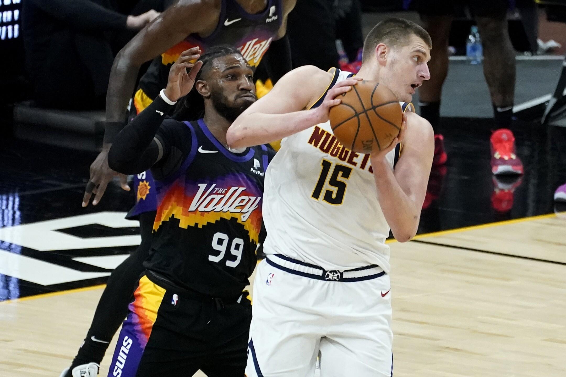 Nuggets Suns Basketball