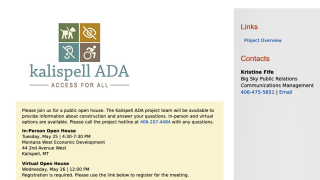 Kalispell ADA Project