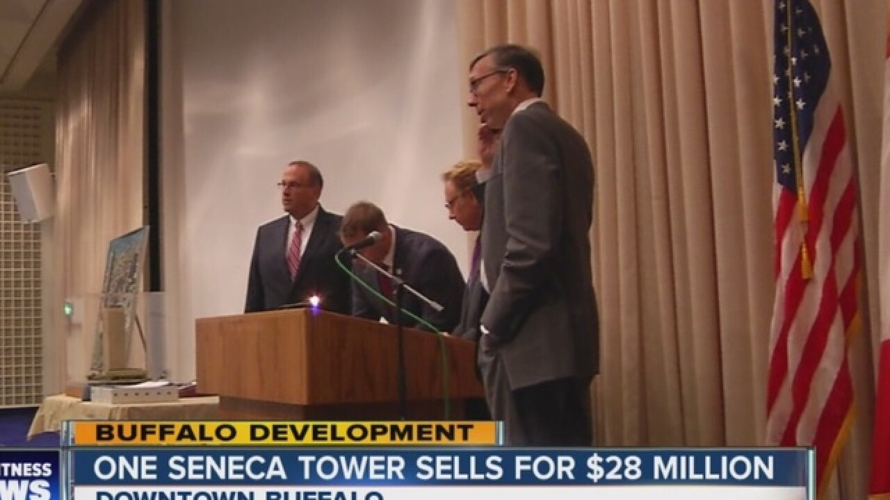 Buffalo's tallest building sold for $28 million