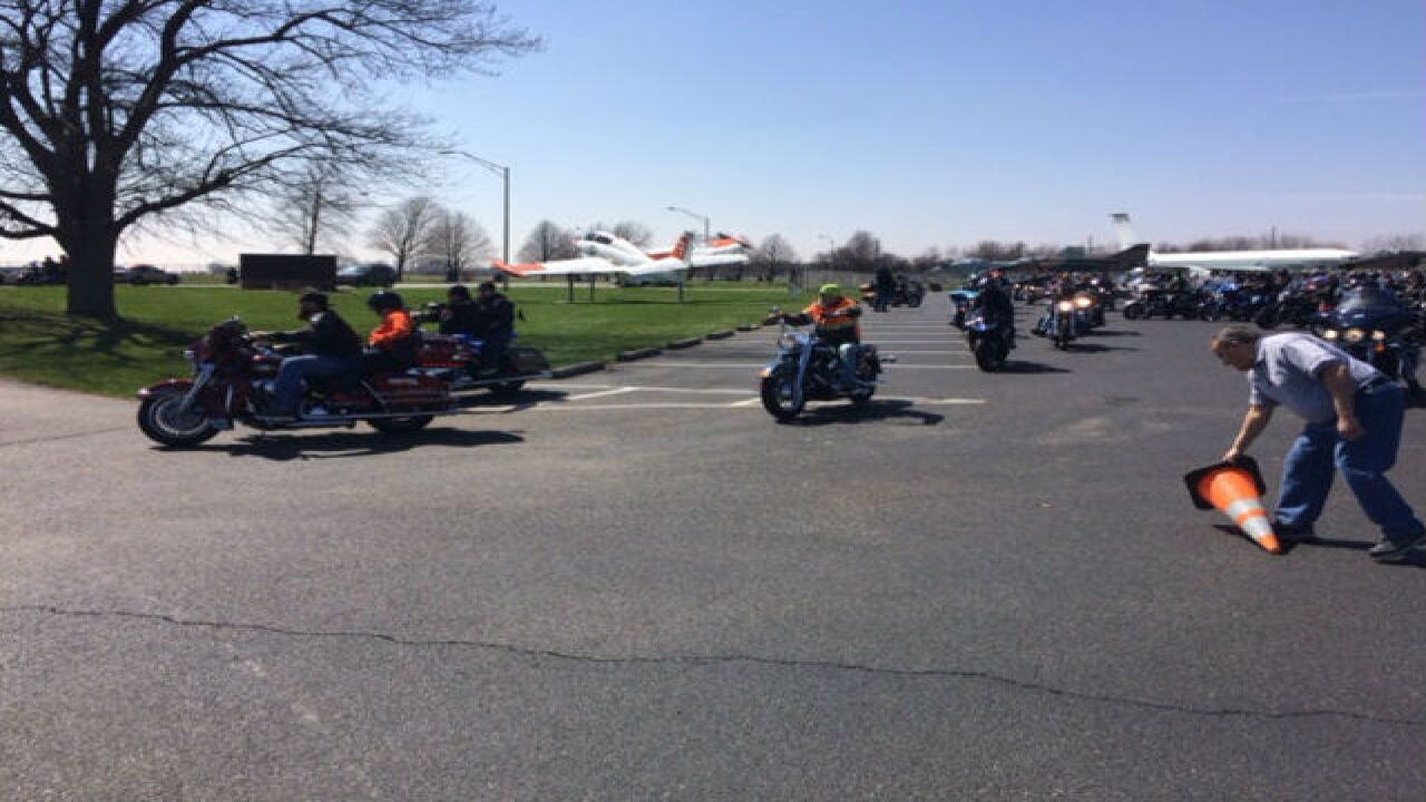 PHOTOS: Motorcycle ride honoring Deputy Koontz