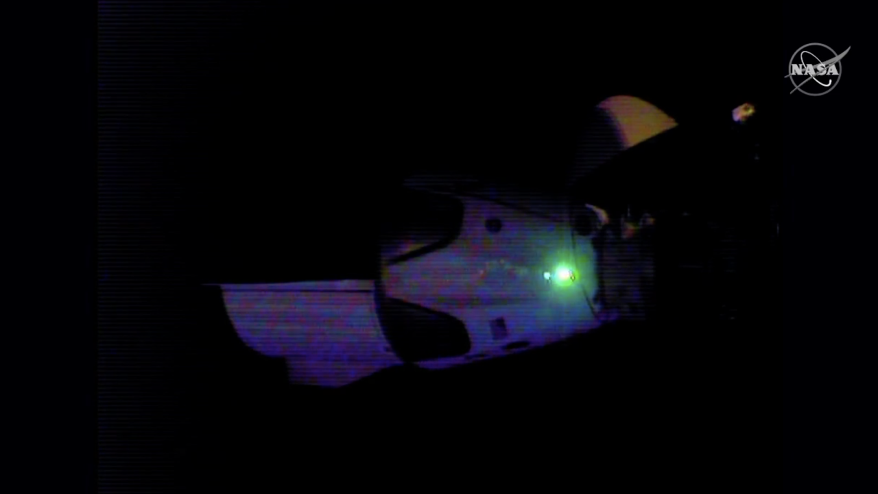 SpaceX's astronaut-riding Dragon approaches space station