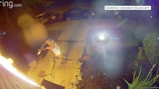 woman arson Ring doorbell
