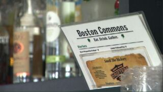 Boston Commons reopens nearly a year after the tornado