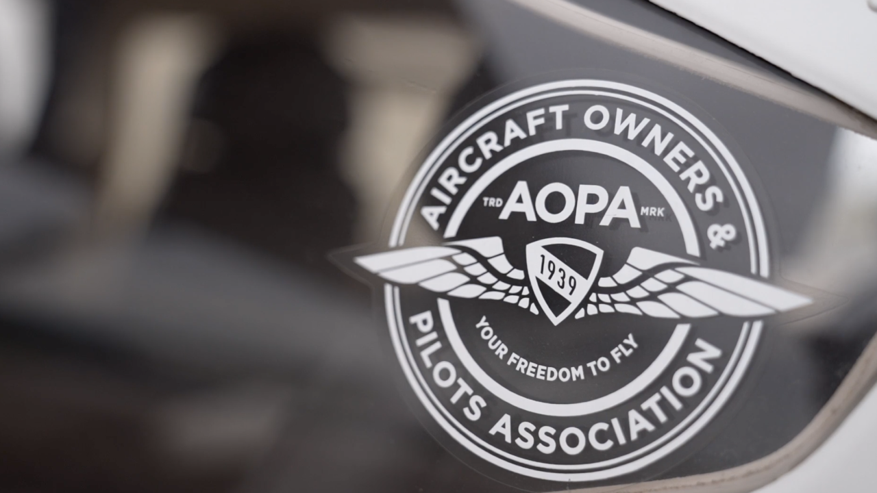 The Aircraft Owners and Pilots Association, or AOPA, is a national nonprofit that developed an aviation curriculum for high school students.