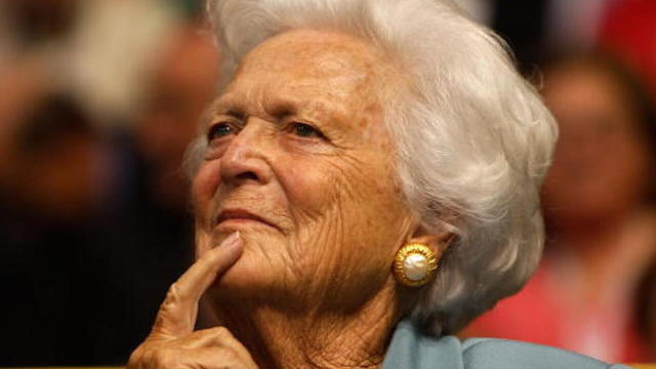 President Trump won't attend Barbara Bush funeral, to 'avoid disruptions'