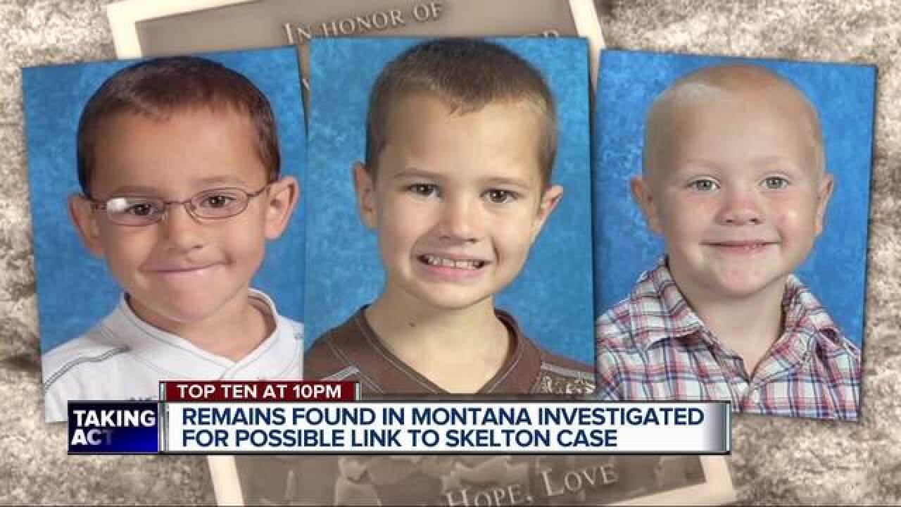 Missing remains connected to Skelton boys?