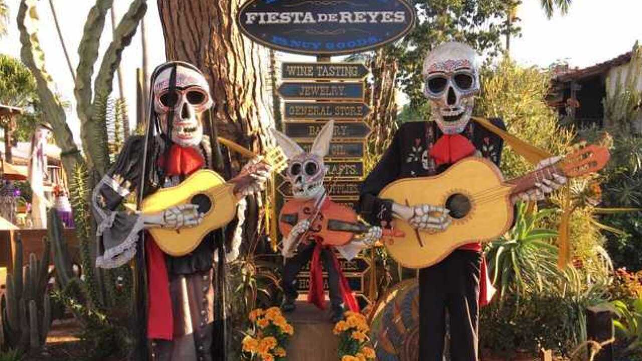 Fiesta de Reyes celebrates Dia de Los Muertes