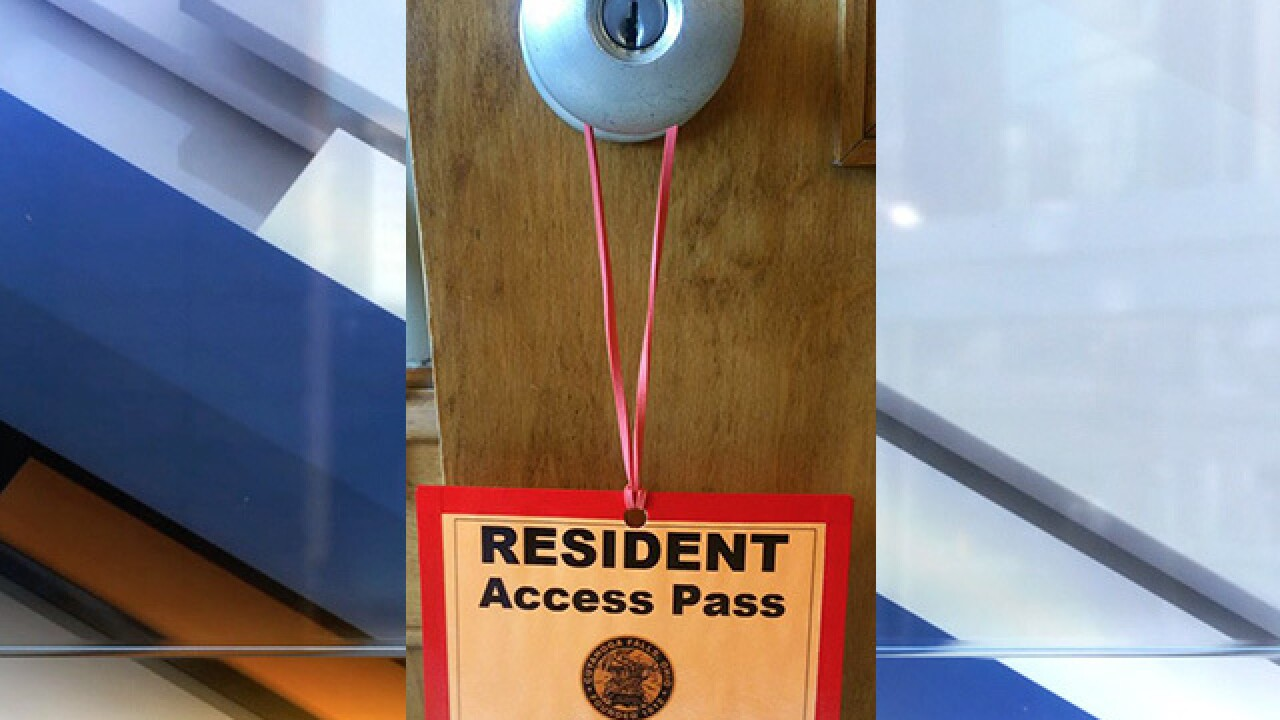 New resident pass gives neighbors near Blossom easier access to their homes