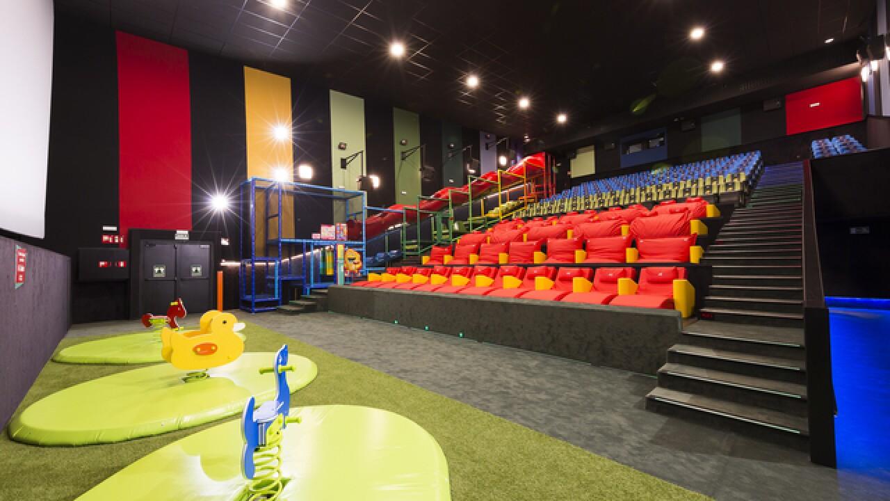 Cinpolis Vista bringing jungle gym to theater
