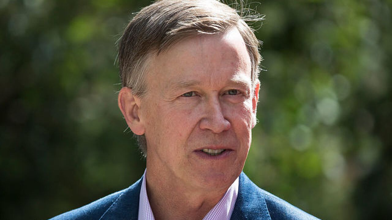 Hickenlooper calls for special session to deal with retail pot taxes