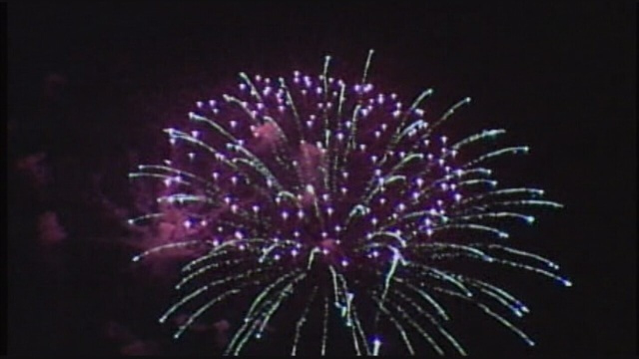 Town cancels fireworks show amid fire danger