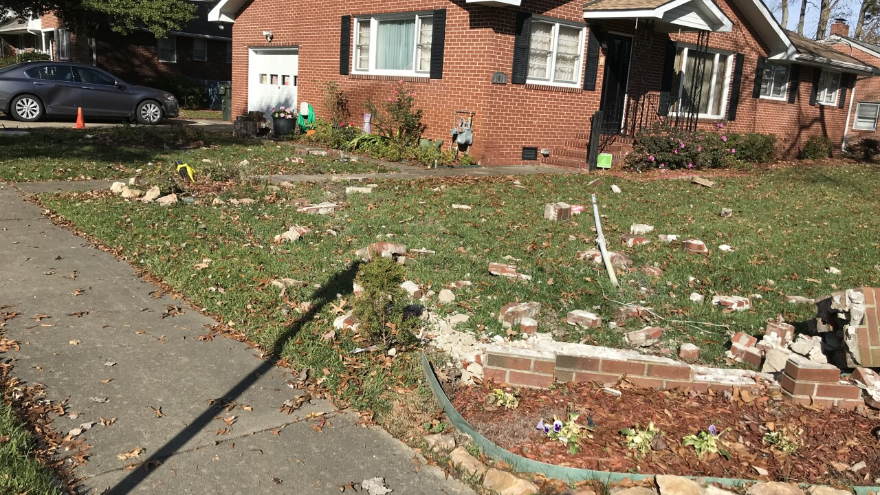 Norfolk Police search for man accused of stealing 2 cars, crashing intoyard