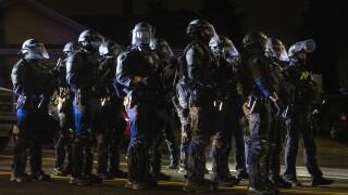Portland protests set up clash between journalists, police