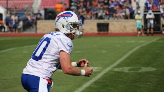 Josh Allen looking to Cole Beasley early and often