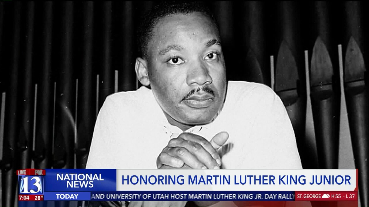 The nation honors civil rights leader Martin Luther KingJr.
