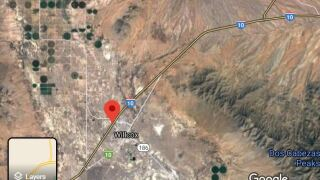 A four-mile stretch of highway south of Willcox in rural Cochise County remained closed Thursday due to soil erosion that the state Department of Transportation attributed to recent rain storms.