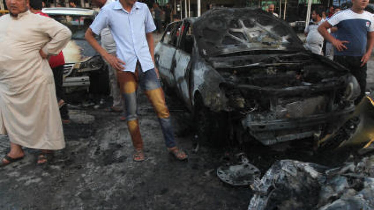 Bombing, shooting rock Iraq after deadly car bomb