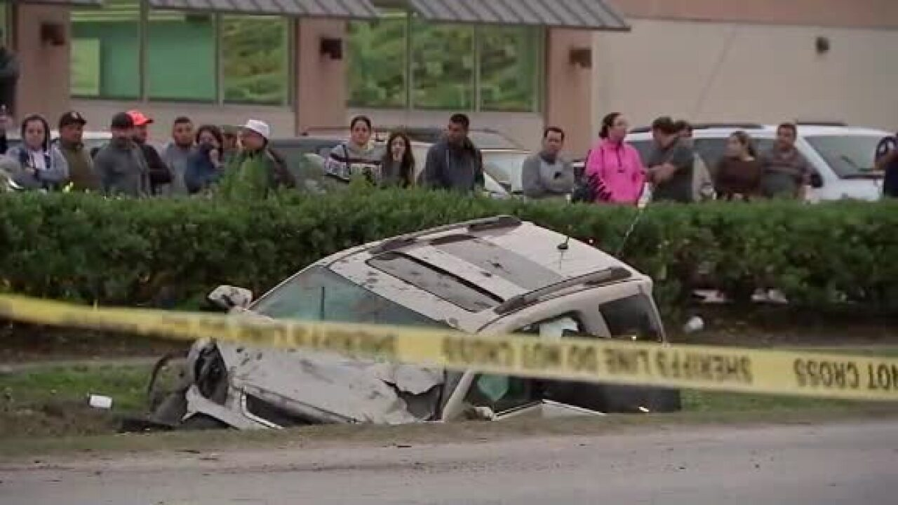 14-year-old boy arrested on murder charge after fatal crash in Houston