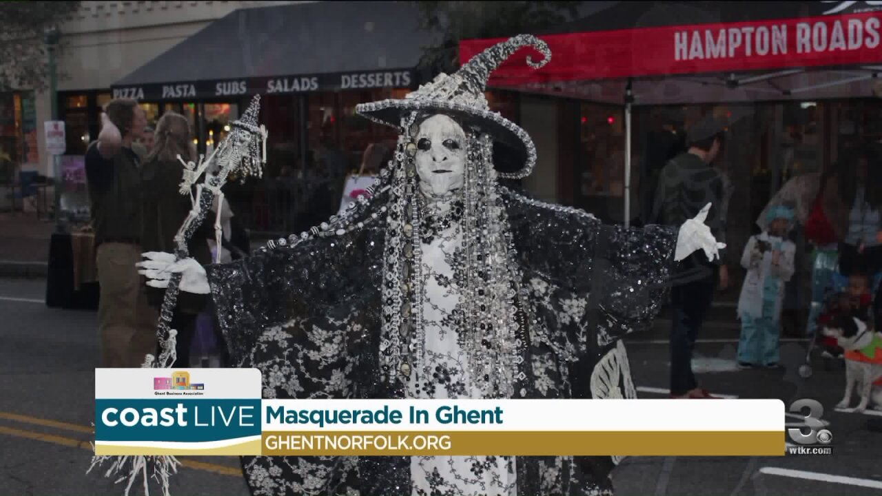 Previewing the Masquerade in Ghent on Coast Live