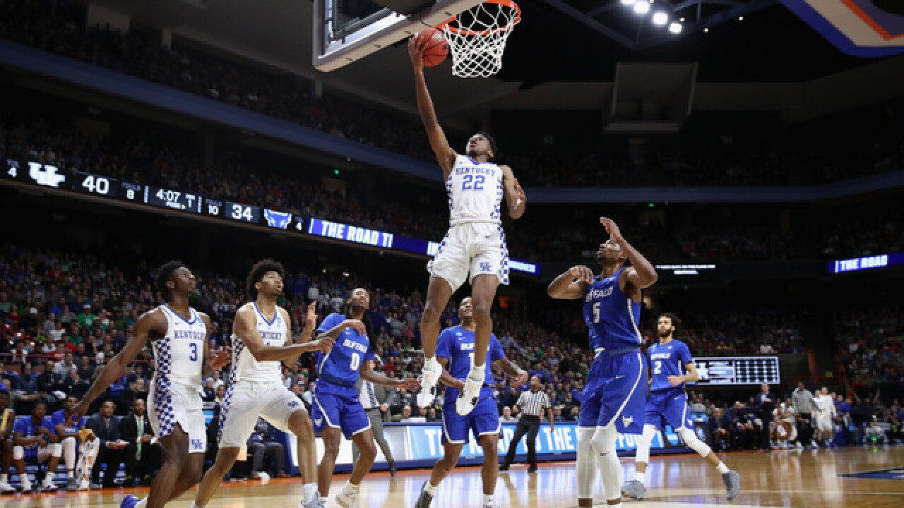 UB falls short of a Sweet Sixteen trip, falls 95-75 to Kentucky in round of 32