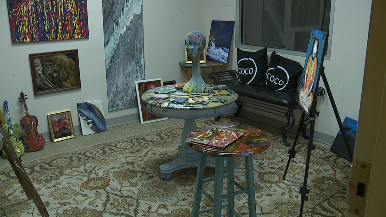 Cleveland paint shop and art collective re-inventing itself to stay afloat amid pandemic