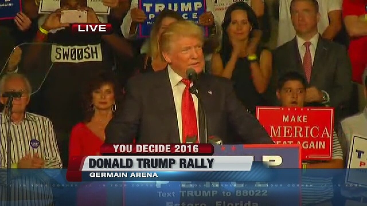 WATCH LIVE: Donald Trump rally near Fort Myers