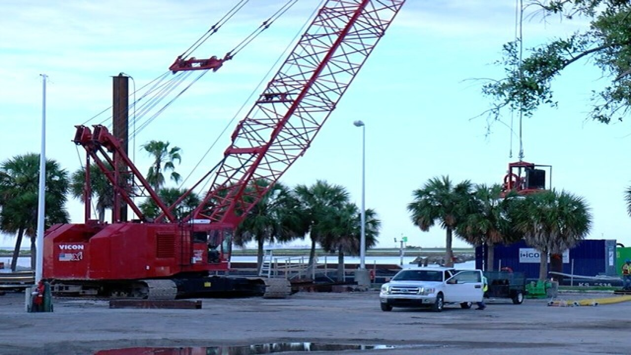 St. Pete Pier construction noise starts soon