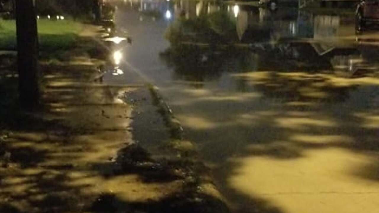 Flooding 2 NE Wis