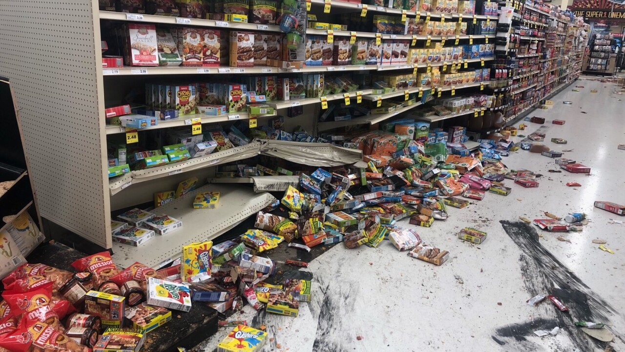 Man facing several charges after driving into Columbia Falls grocery store