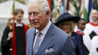 Prince Charles, heir to the British throne, tests positive for the coronavirus, his office says
