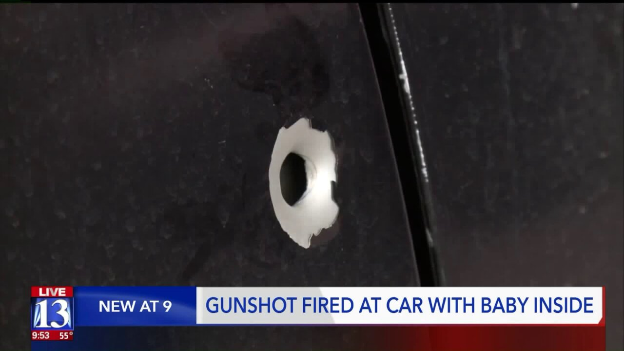 Tooele couple, infant shot at by suspect while on familydrive