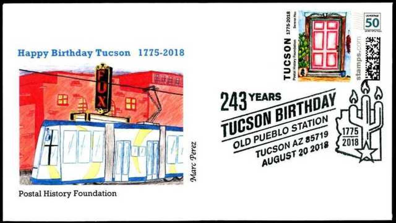 Catalina Foothills student wins stamp contest