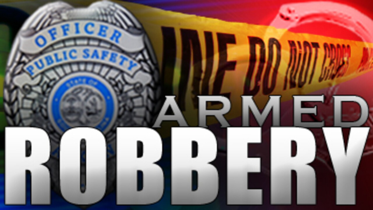 police look for robbery suspects