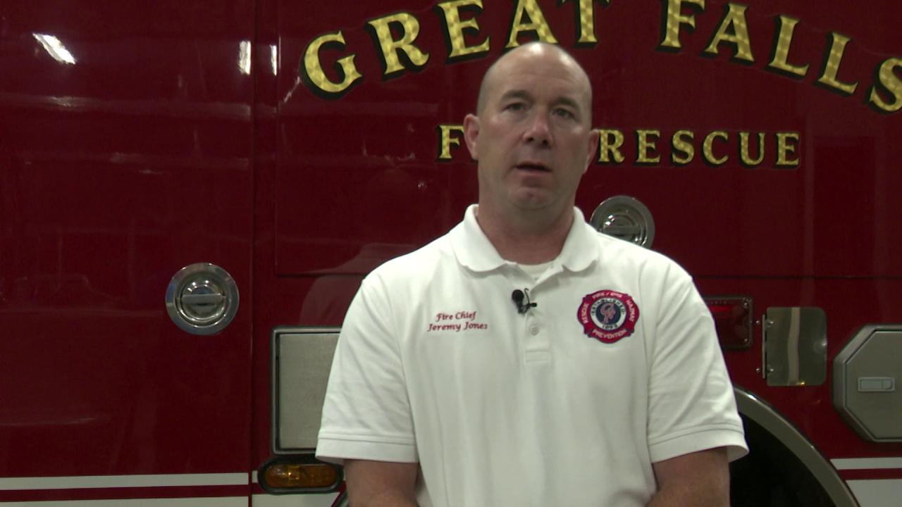 Fire Chief Jeremy Jones