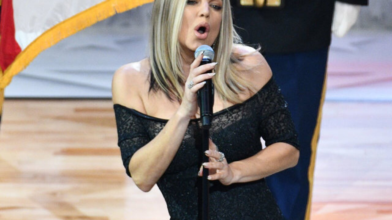 Fergie's national anthem at NBA All-Star game baffles viewers