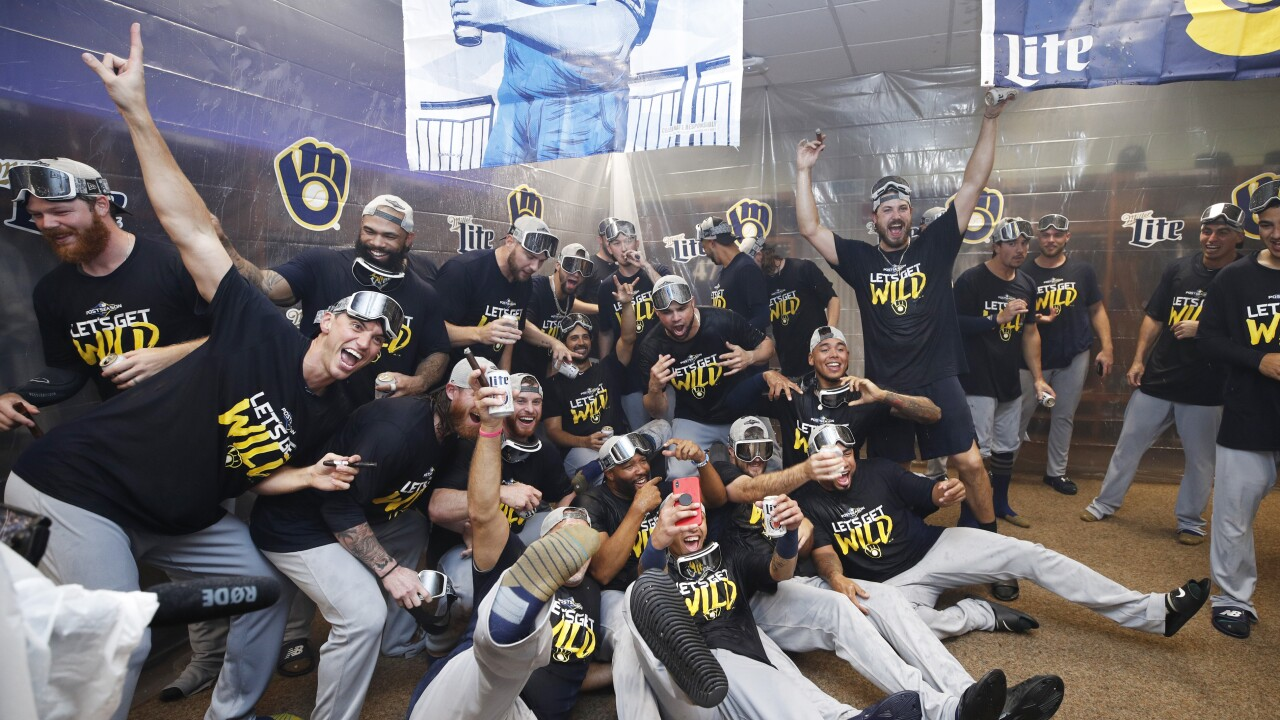 Milwaukee Brewers Clinch Playoffs