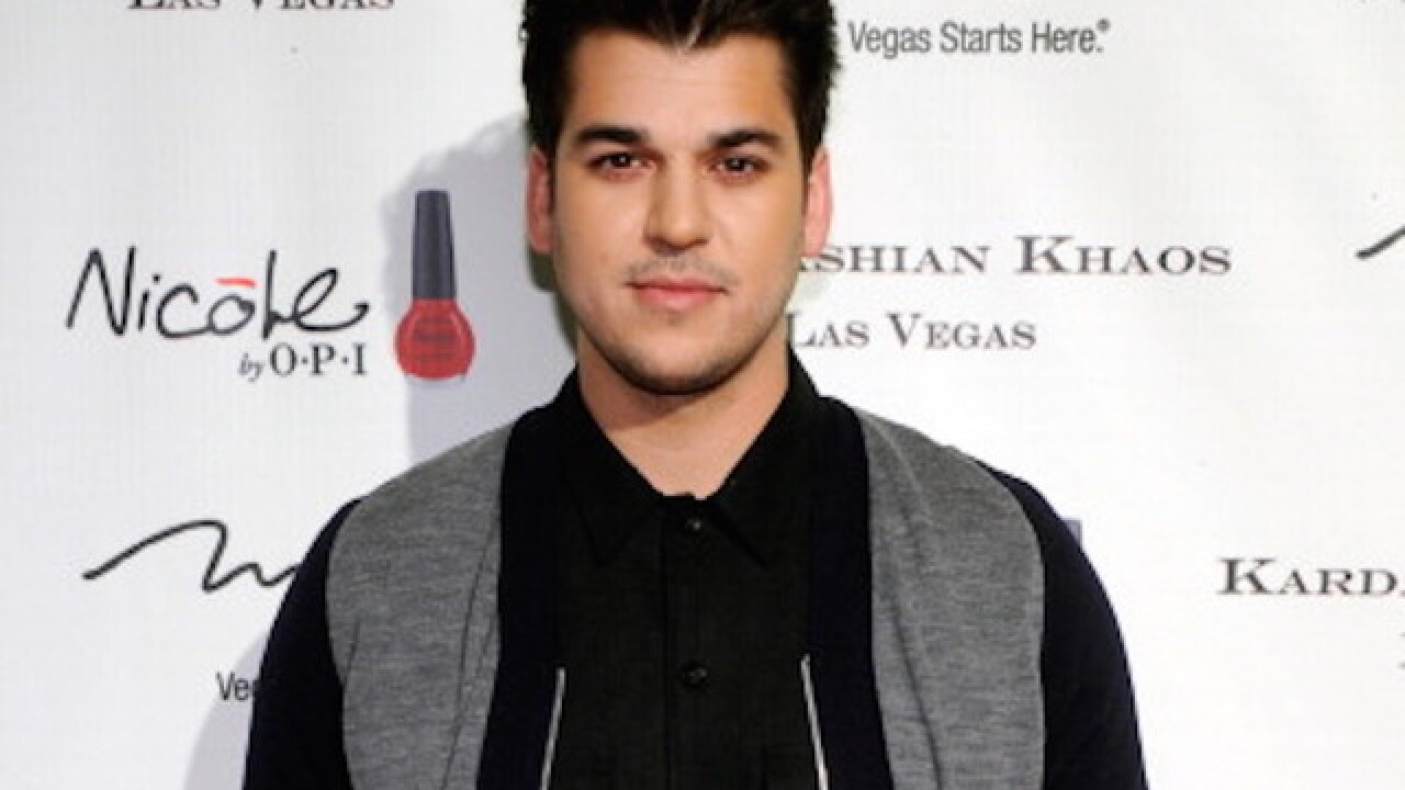 Report: Rob Kardashian hospitalized