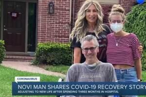Novi man shares COVID-19 recovery story