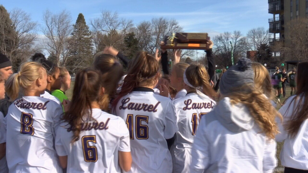 Laurel Girls Soccer Title