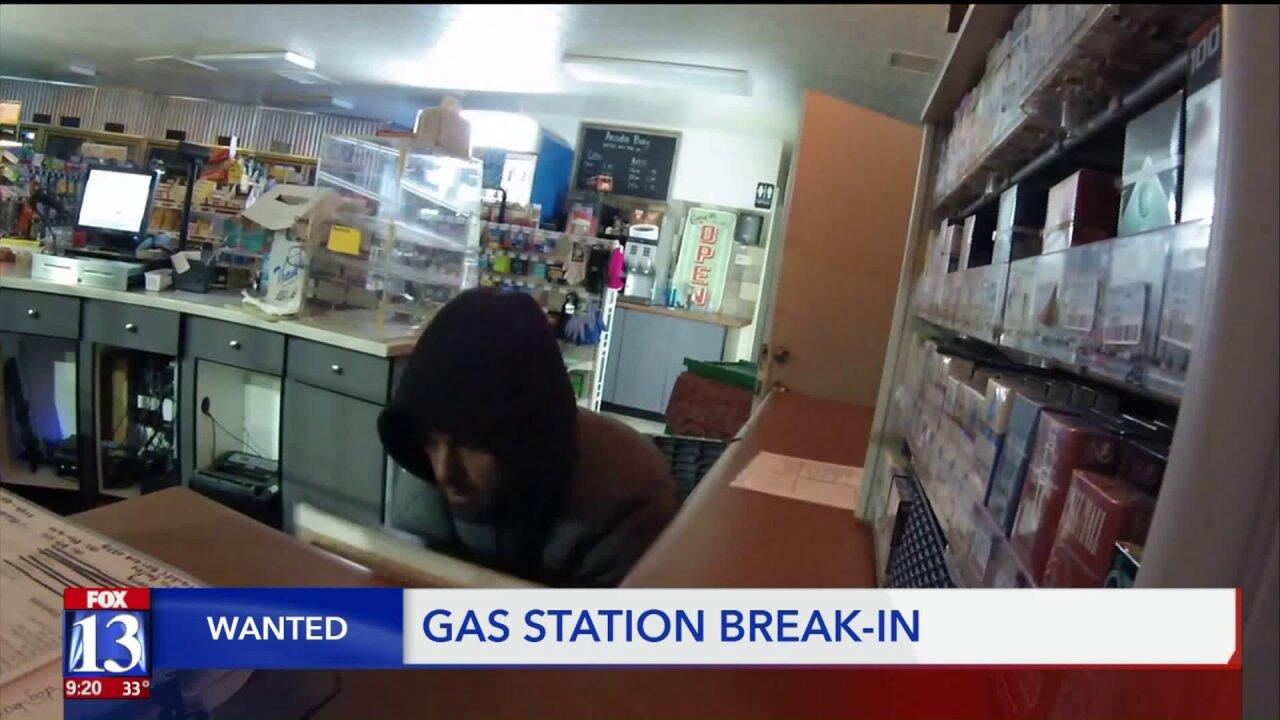 Wanted: Gas station burglar, car thief and shady dogwalker