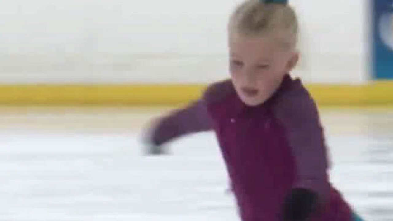 Olympic athletes inspire local figure skaters