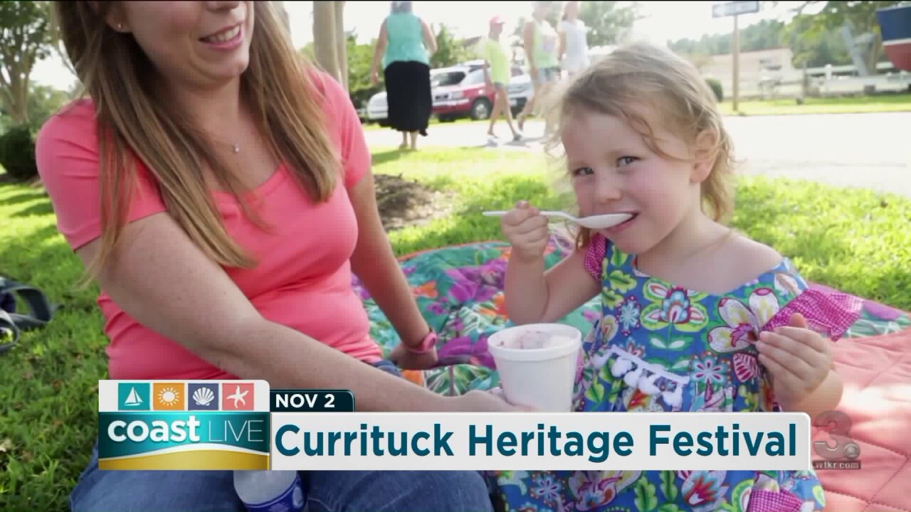 Getting ready for the Currituck Heritage Festival with some tasty BBQ on CoastLive
