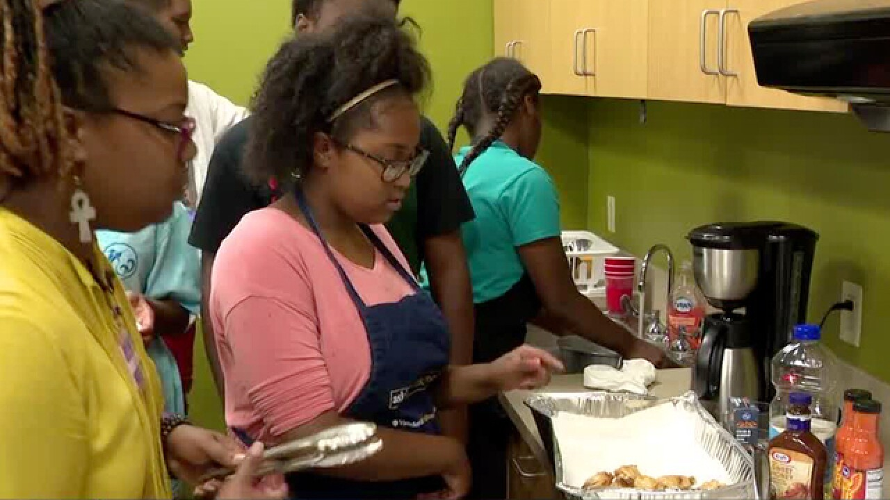 Kids Learn Valuable Skills At Goodwill's Summer Youth Program