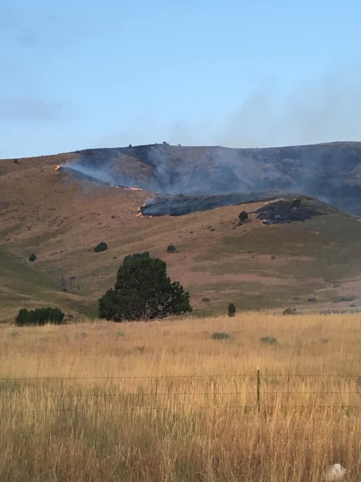 Photos: Crews battling a pair of wildfires in Juab County, west ofNephi