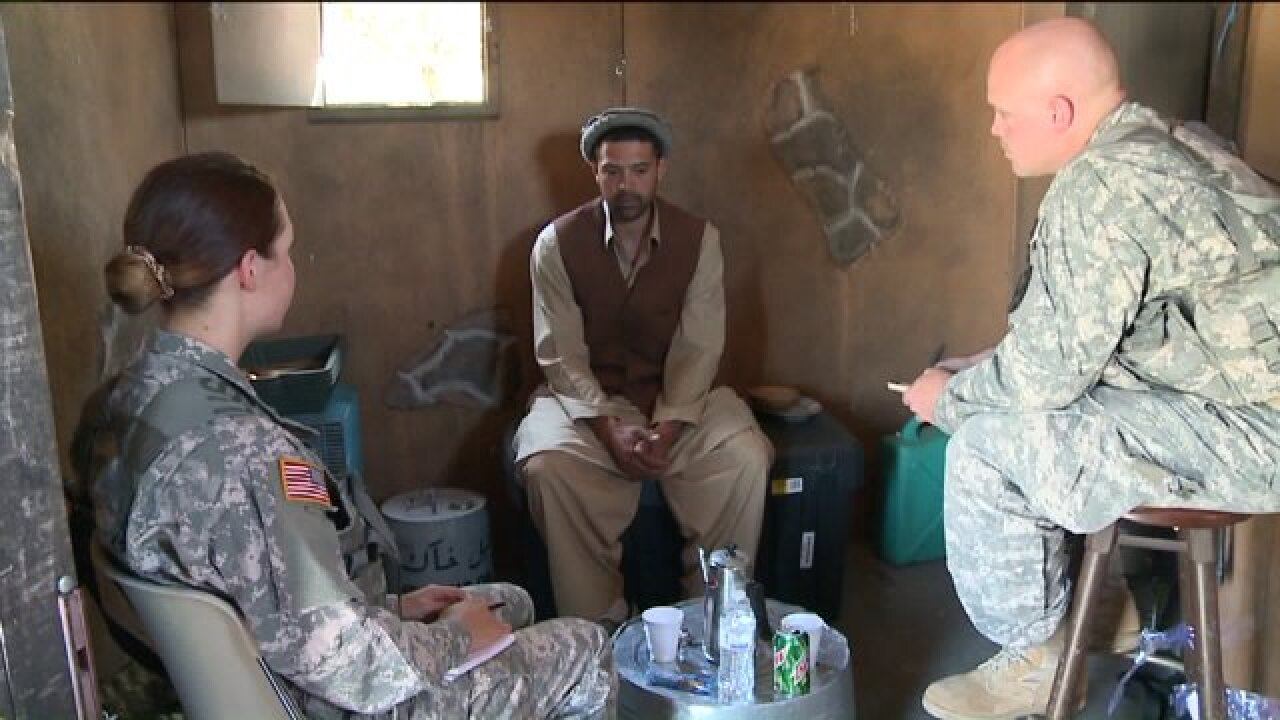 Camp Williams turns into mock Afghan village for intelligence training