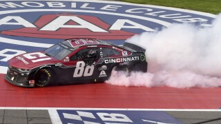 Alex Bowman NASCAR Fontana Auto Racing