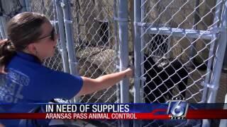 Aransas Pass Animal Control seeking donations