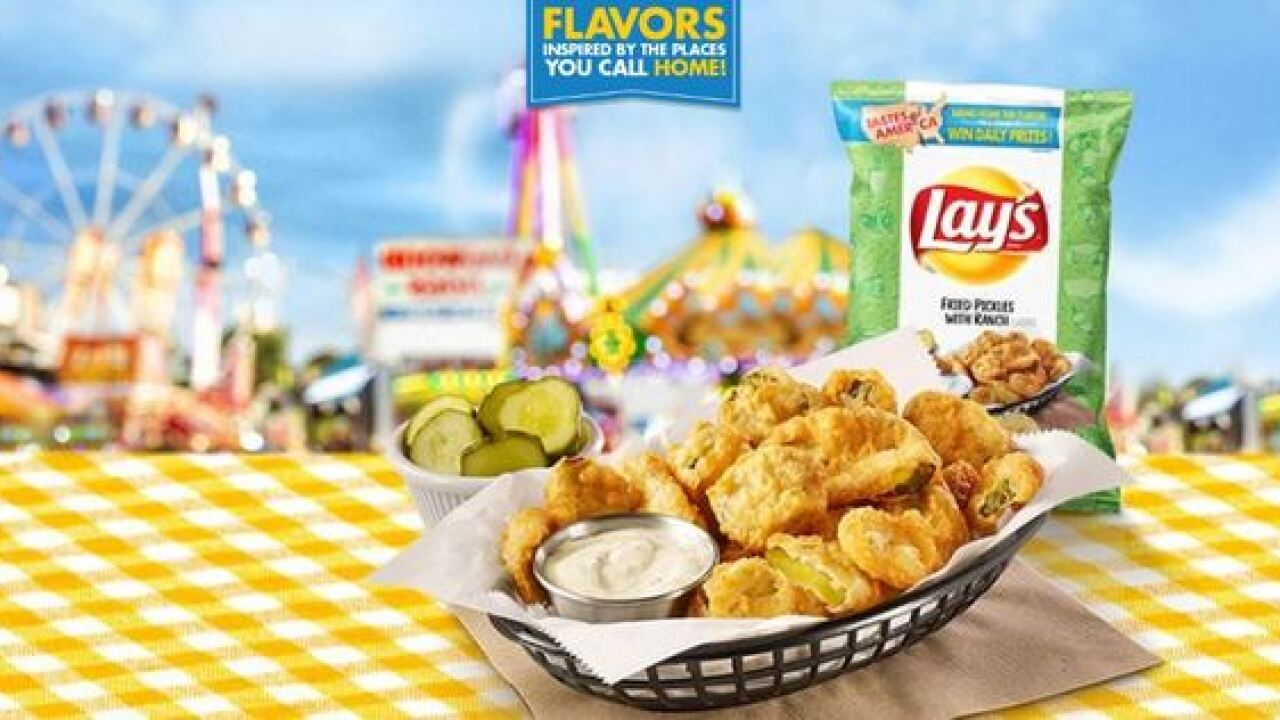New Lay's potato chips include pickle and lobste