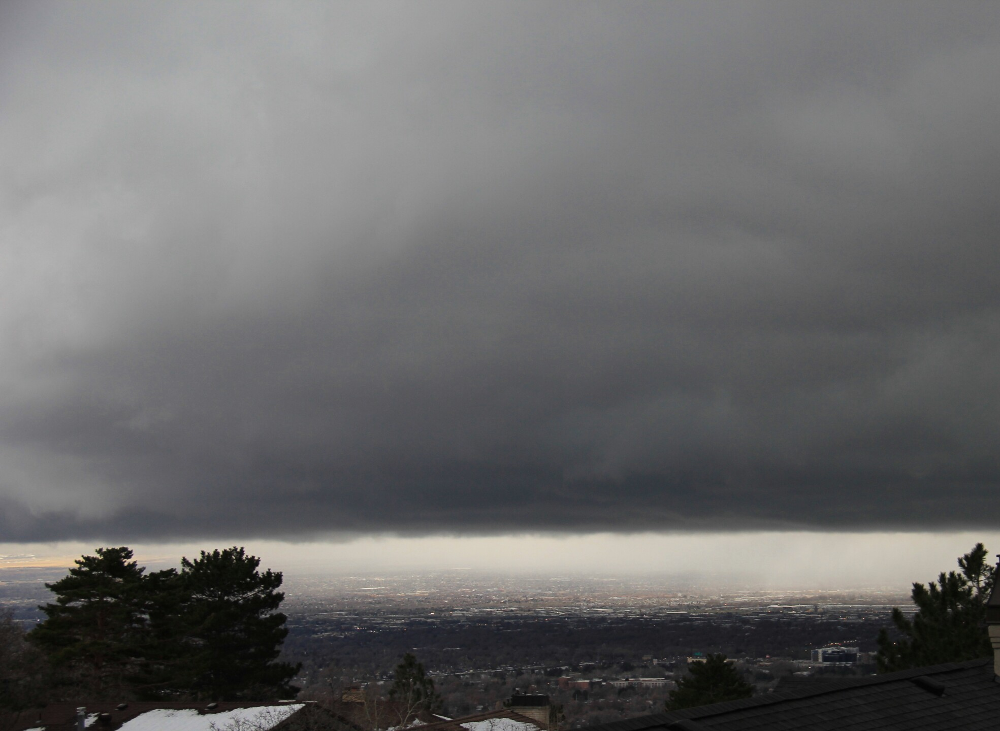 Photos: Photos: Storm moves over the Salt LakeValley